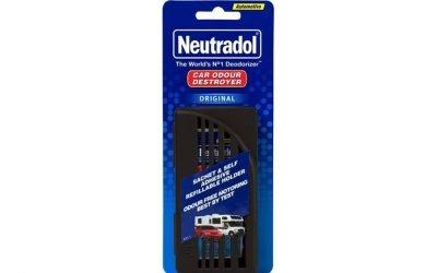 Neutradol Original Car Sachet and Holder